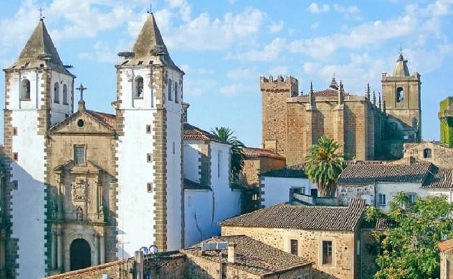 Pueblos en Cáceres.