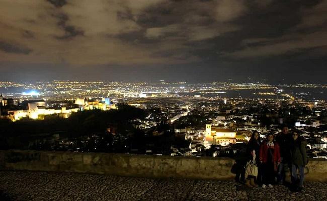 atardeceres de Granada. 0