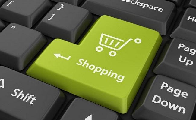 Compras en línea.