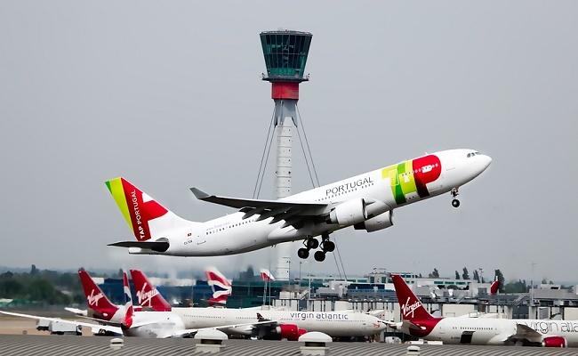 aeropuerto internacional en Portugal