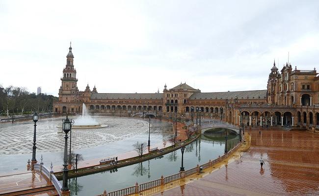 Temperatura en Sevilla.