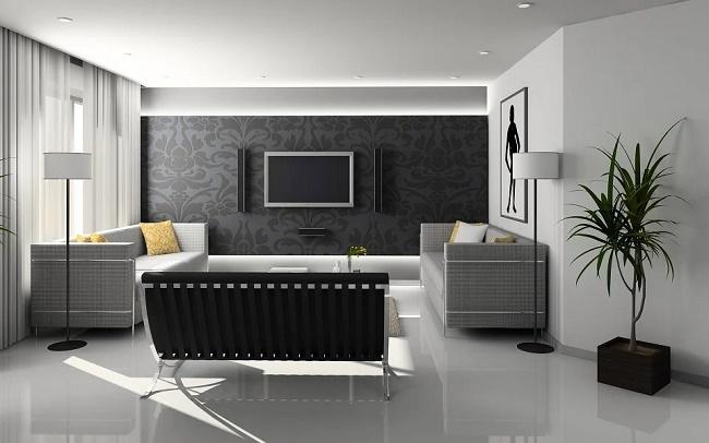 Ideas neutrales de sala de estar0