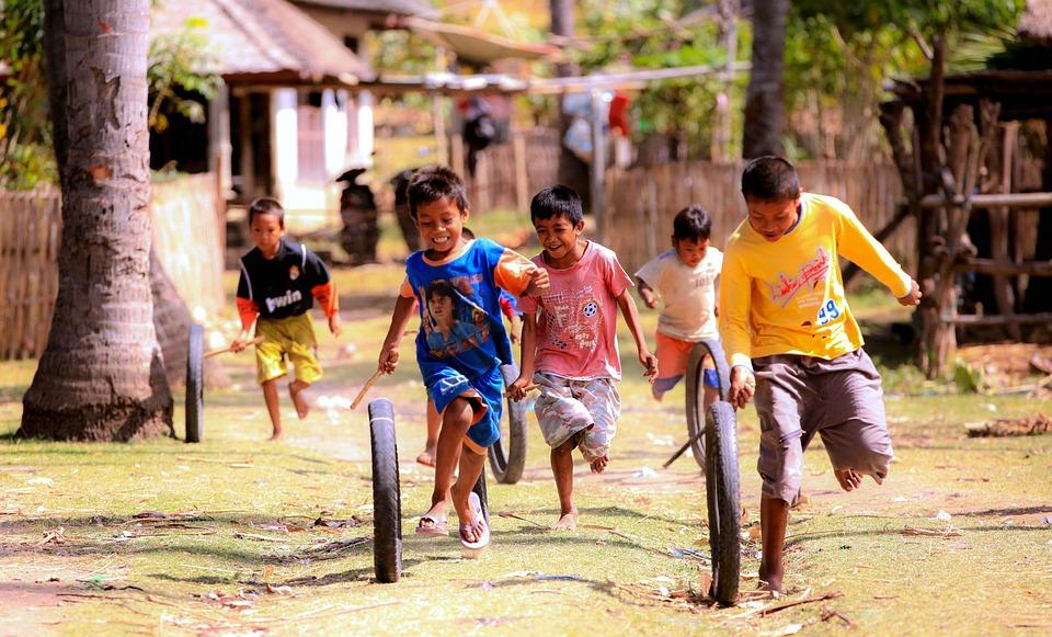 juego cooperativo en niños