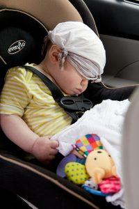 Viajar con un bebé recién nacido.