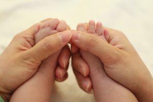 masajear a un bebé