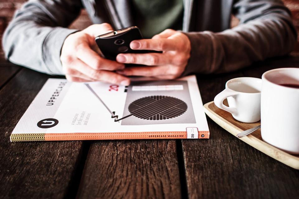 presencia en línea startup
